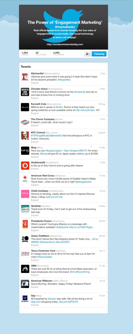 16 Twitter fails